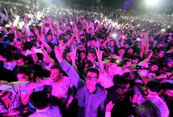 جشن حامیان دکتر روحانی در شیراز