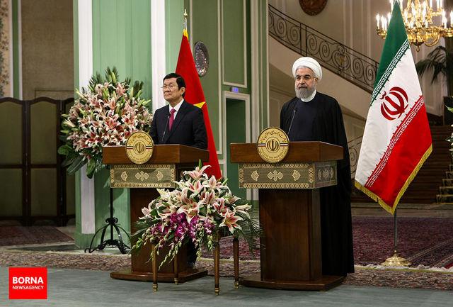 رقم مبادلات تجاری ایران و ویتنام در یک دوره 5 ساله به 2 میلیارد دلار افزایش مییابد