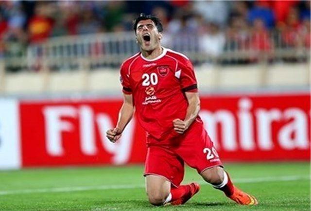 نورمحمدی: با تمام وجود برای شادی روح هادی و خوشحالی هواداران بازی میکنیم