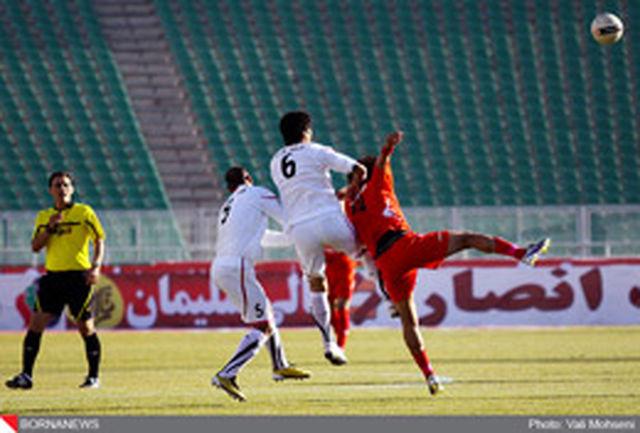 پیروزی شهرداری تبریز مقابل مس در نیمه نخست