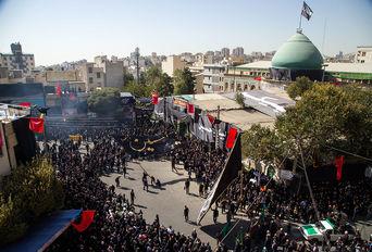 عزاداری عاشورای حسینی(ع) در محله چیذر