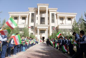 افتتاح دبستان ثابت با حضور وزیر آموزش و پرورش