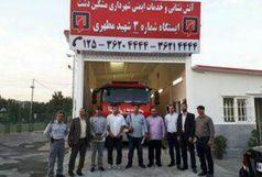 گشایش ایستگاه آتش نشانی در مشکین دشت فردیس