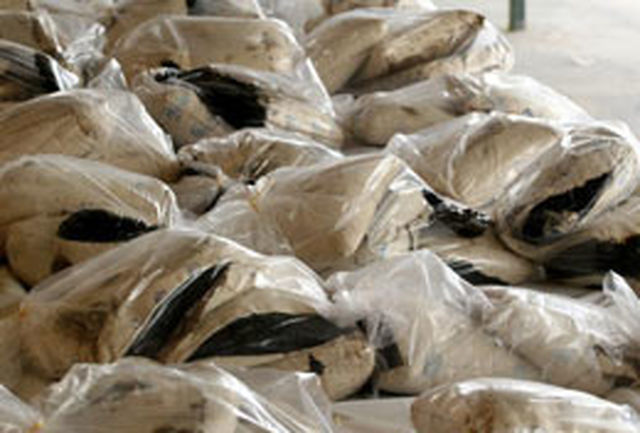 مقابله با کاروانهای متجاوز مواد مخدر مرزی در شرق کشور/ کشف بیش از ۲.۷ تن مواد مخدر