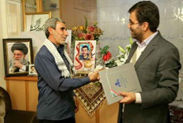 مدیرعامل شرکت گاز آذربایجان شرقی با خانواده شهدای مدافع حرم دیدار کرد