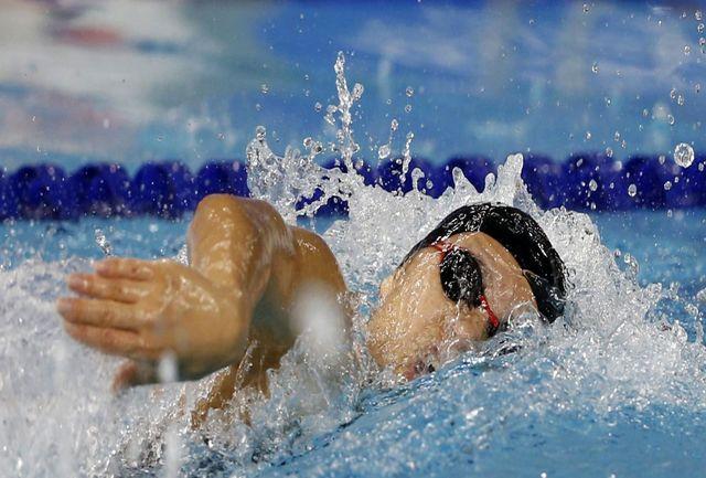 چاوشی فر: حضور در رویدادهای معتبر به پیشرفت شنا کمک میکند