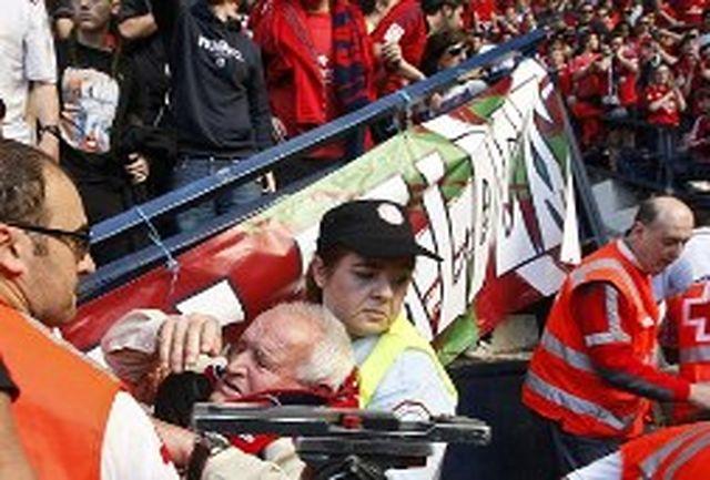 68 نفر در حادثه ورزشگاه اوساسونا مجروح شدند