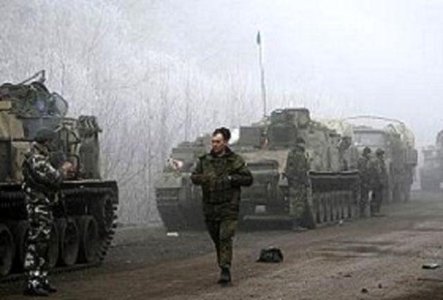 برقراری آرامش نسبی در شرق اوکراین