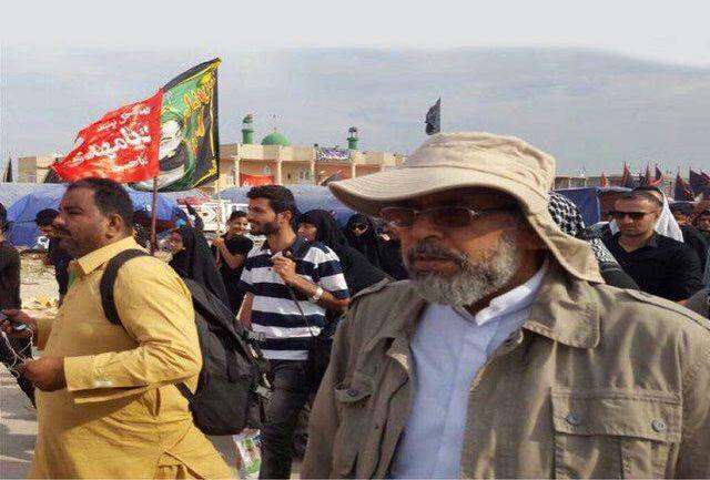 حضور وزیر اطلاعات در پیاده روی اربعین