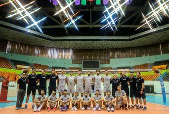 آخرین تمرین تیم ملی والیبال قبل از حضور در لیگ جهانی