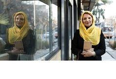 الهام پاوهنژاد و نگار عابدی در مقابل  دوربین