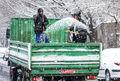 ۵ هزار خودرو شن و نمک در معابر پایتخت مستقر شدند