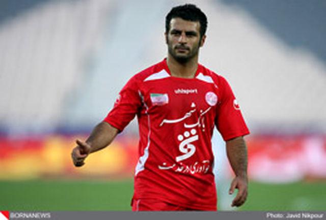 رضایی: در چند بازی به زور آمپول به میدان رفتم
