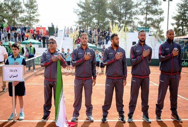 تبریک مسئول توسعه تنیس ITF در مرکز و غرب آسیا به موفقیت ایران در دیویس کاپ