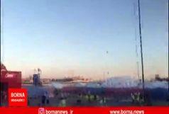 کل کل جالب هواداران اسپانیایی با خبرنگار برنا/ گزارشی از fan fest ایرانی شهر کازان
