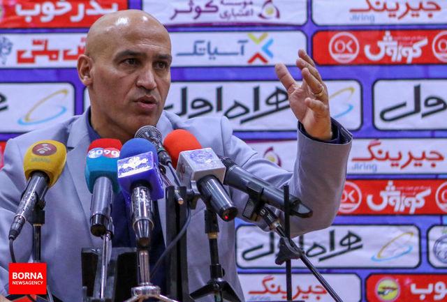 منصوریان: با انسجامی که داریم، می توانیم نتیجه بگیریم/ از حمایت هواداران تشکر می کنم