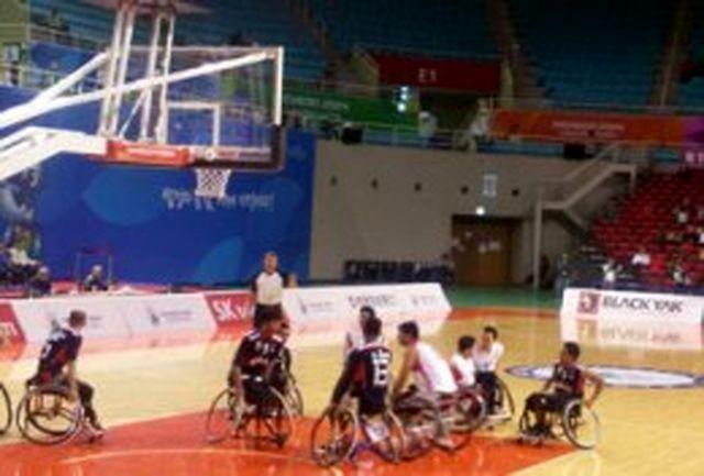 سومین پیروزی پیاپی بسکتبال با ویلچر ایران