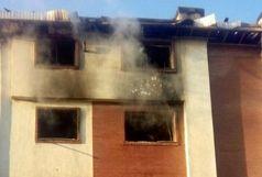 انفجار در یک واحد مسکونی در آمل!