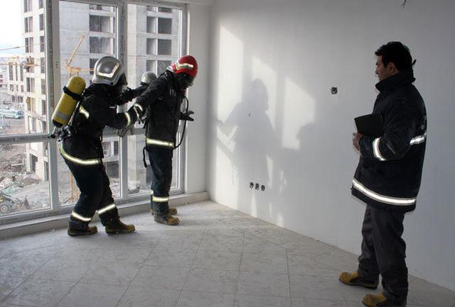 آتش نشانان اقدام به خودکشی را ناکام گذاشتند