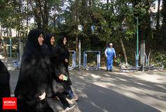 پیاده روی کارکنان وزارت ورزش و جوانان برگزار شد
