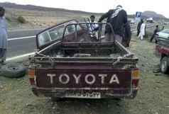 ۲۷ مصدوم و فوتی اتباع افغانی در اثر واژگونی خودرو