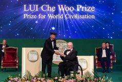 دریافت جایزه «انرژی مثبت» توسط فیلیپ کریون