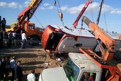 جزئیات واژگونی اتوبوس در خراسان رضوی با 39 سرنشین