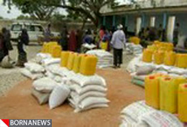 محموله 40 تنی امدادی ایران وارد سومالی شد