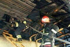 اتو ، عامل آتش سوزی یک خانه در رشت