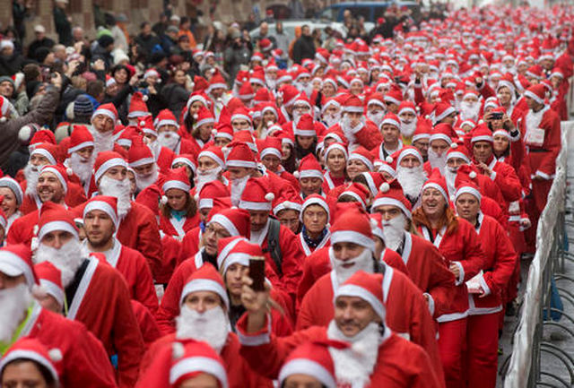 پلیس مخفی با لباس بابانوئل