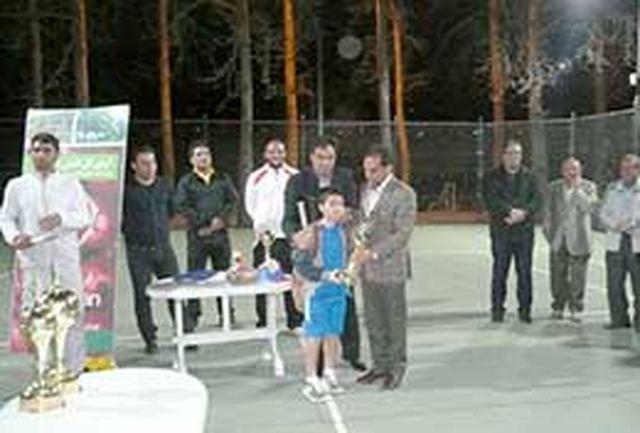پایان مسابقات جشنواره زمستانه تنیس البرز
