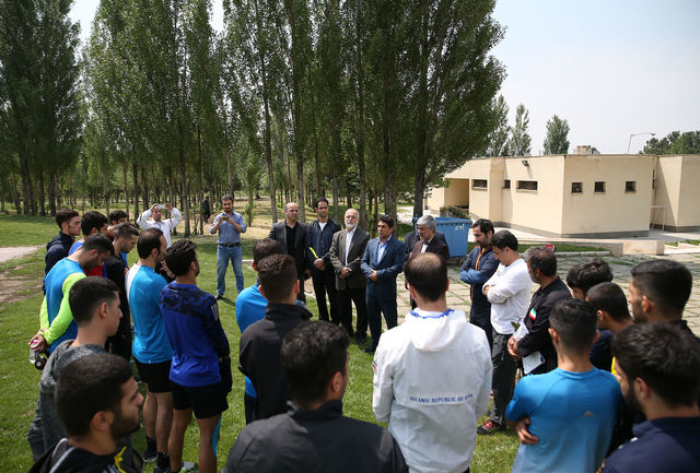 هاشمی: کاراته با مدال آوری خود همواره دل مردم را شاد کرده است