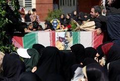تشییع پیکر پاک سردار شهید شعبان نصیری امروز در کرج