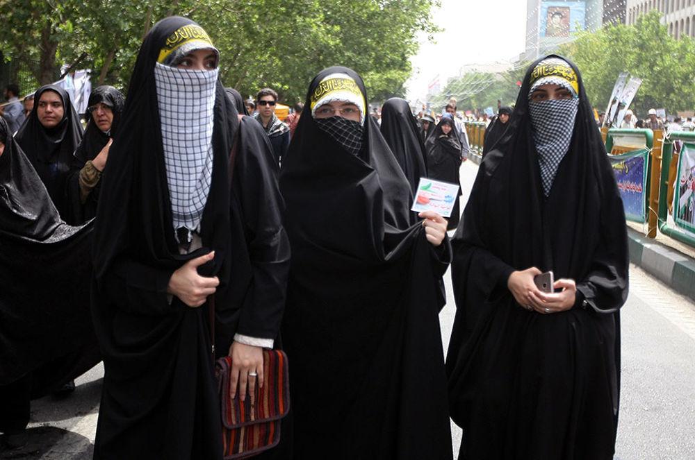 سوژه های دیدنی راهپمایی روز قدس 95