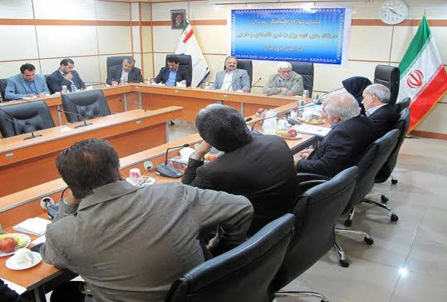 شورای هماهنگی مدیران تابعه وزارت امور اقتصادی و دارایی در خوزستان برگزار شد