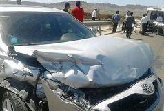 5 کشته و زخمی در تصادف دو خودرو سمند و کمری