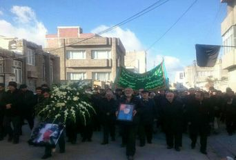 حال و هوای شهر اردبیل قبل از تشیع جنازه مرحوم سلیم موذن زاده