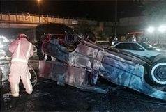 سانحه رانندگی در مقابل دانشگاه سهند هشت مصدوم برجای گذاشت