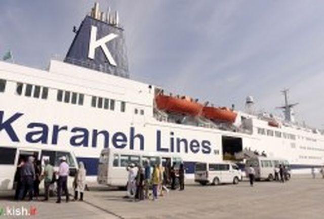 سفرهای مهیج از کیش به قشم با کشتی اقیانوس پیمای سانی