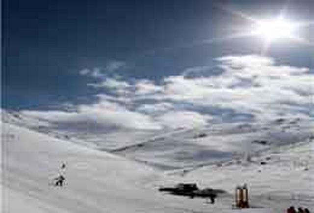 راه اندازی بزرگترین پیست اسکی آموزشی کشور در همدان