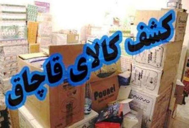 توقیف خودروی حامل یک میلیارد ریال کالای قاچاق در ایرانشهر