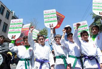 راهپیمایی روز جهانی قدس در اراک