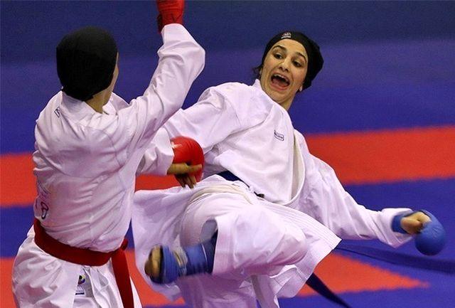 بانوان دانشگاه آزاد و مقاومت بسیج در صدر رنکینگ سوپرلیگ کاراته