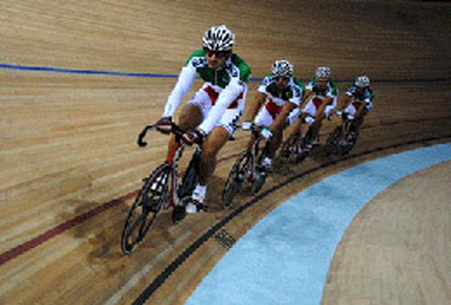 ایران نایب قهرمان مسابقات دوچرخهسواری پیست آسیا شد