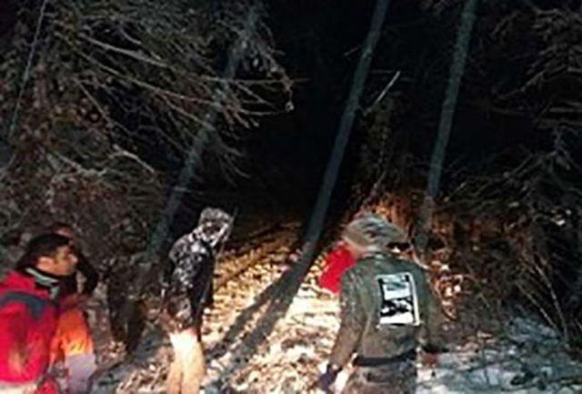 یخ زدگی 4 جوان گمشده در جنگل های برفی مازندران