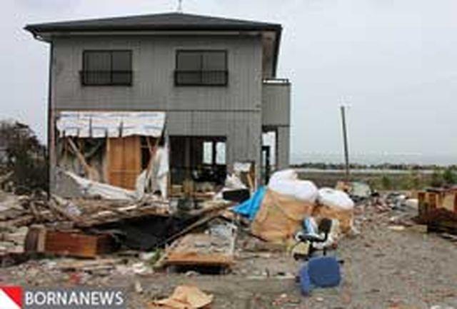 شهر فوکوشیما بعد از سونامی+ عکس