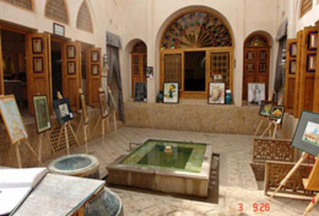 نمایشگاه نقاشی «باران در نیریز» برپا شد
