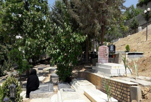مشخصات محل تدفین مرحوم کیارستمی در لواسان