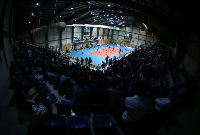 اعلام نتایج سومین روز لیگ دسته یک والیبال جوانان