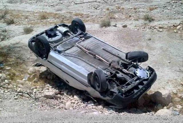 واژگونی یک خودرو در محور کوهرنگ به مسجد سلیمان یک کشته برجای گذاشت